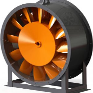 Вентилятор осевой для перемещения воздуха и газовых смесей