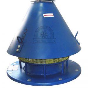 Крышный вентилятор для перемещения воздуха и газовых смесей