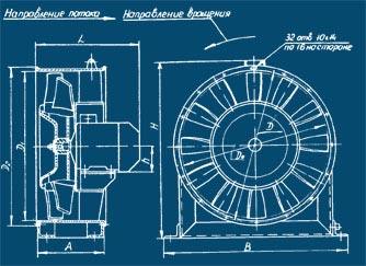 Вентилятор осевой вытяжной В-2,3-130