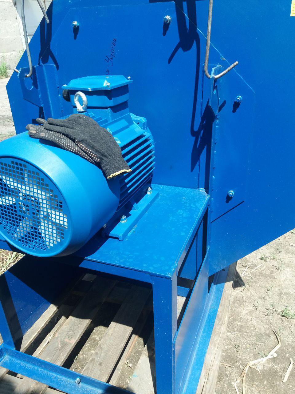 Радиальный пылевой вентилятор