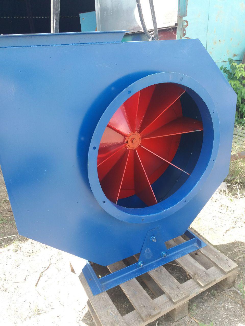 Вентилятор ВРП пылевой, радиальный