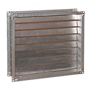 Клапан гравитационный для прямоугольного канала вентиляции купить недорого изготовление