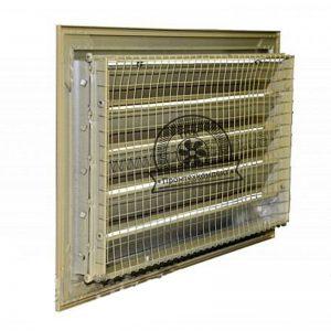 Решетка с защитной сеткой воздухозаборная недорого купить новая продажа