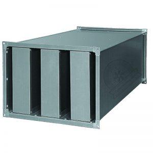 Пластинчатые шумоглушители прямоугольного сечения изготовление купить недорого