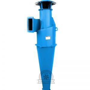 Циклон ЦН для волокнистой или слипающейся пыли купить недорого качество низкая цена фото