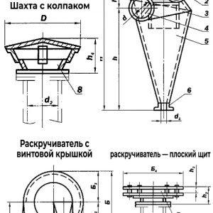 Циклон технические характеристики схема чертеж Украина