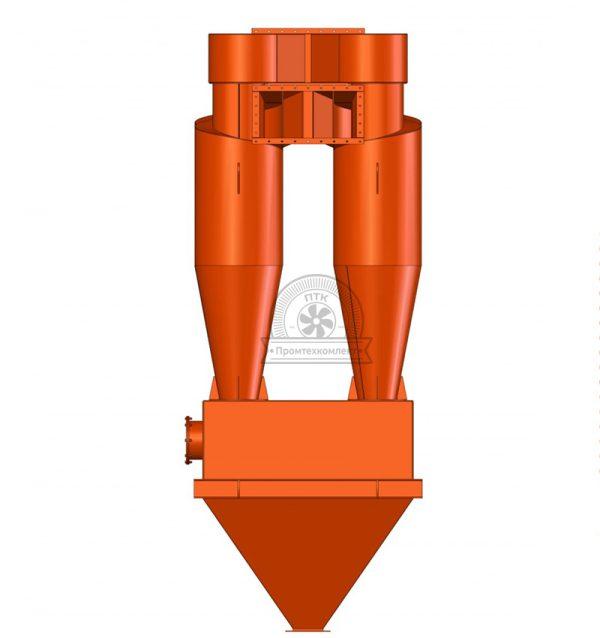 Качественно-изготовленный циклон ЦН-15 новый