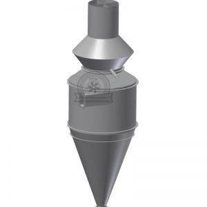 Циклон ОЭКДМ для очистки воздуха Промтехкомплект