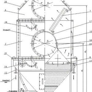Пылеуловители вентиляционные чертеж схема качество дешево