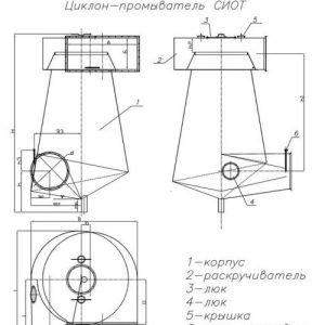 Промыватели схема чертеж новый Украина