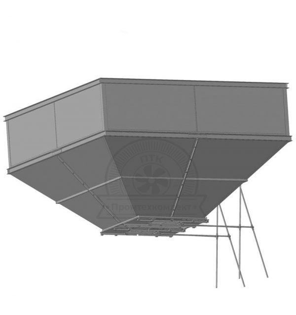 Пирамидальный бункер БП